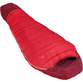 VAUDE Kobel Adjust 500 Syn Sacos de dormir Niños, dark indian red